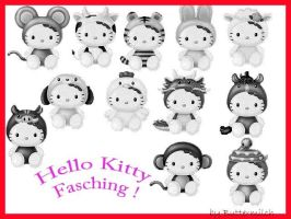 Hello_Kitty_Fasching by Buttermilch