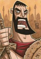 King Leonidas by OtisFrampton