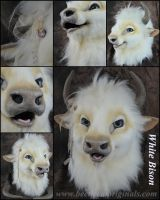 White Bison by Beetlecat