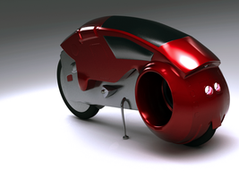 My real Tron Cycle. by Mackingster