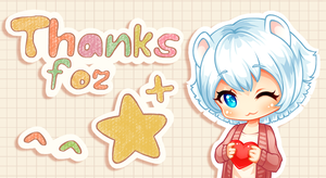 Thanks-for-+ by Okojo-Chan