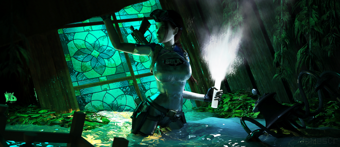 Tomb Raider II - Maria Doria by James--C