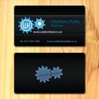 Webkatalyst business cards by SolidSilver