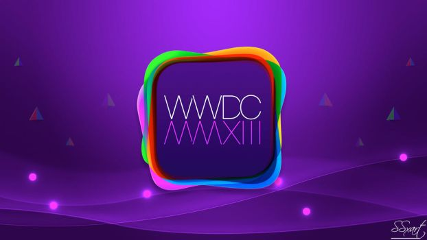 WWDC 2013 Apple event Wallpaper MacBook Air 11inch by SSxArt