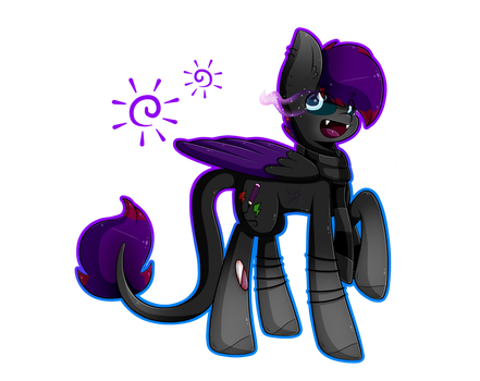 Wolfy Dash (Art Trade) by pelusart