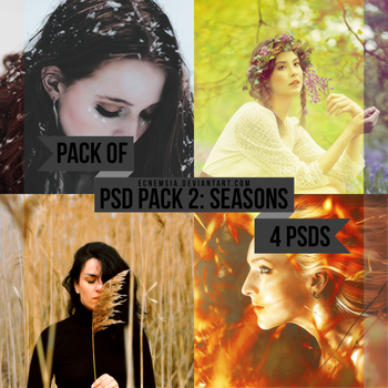 PSD Pack 2- Seasons by ecnemsia