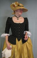 18th Century Jacket and Hat by Verdaera