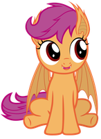 Cute Scootabat by Magister39