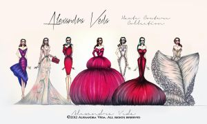 AV Haute Couture Collection by AlexandraVeda