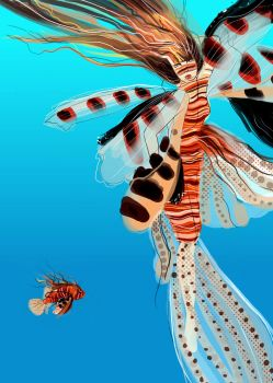 Pelagikos: Lionfish by mosessa