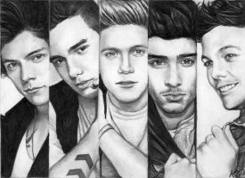 One Direction 7 by Csillipepper