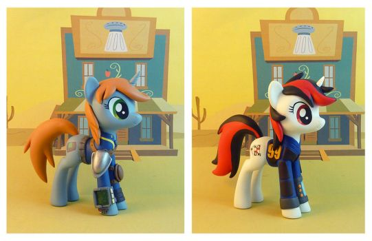 Little Pip and Blackjack by krowzivitch