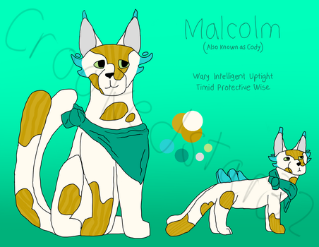 NEW OC - Malcolm by Crookedstar32