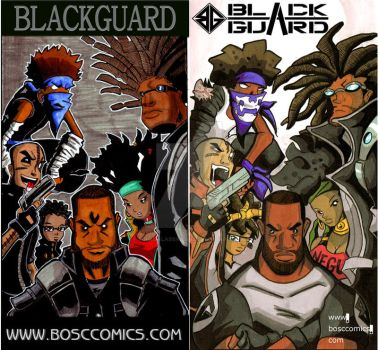 BlackGuard Then and Now by suicidalassassin