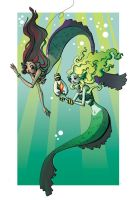 How to Catch a Mermaid by fishcapades