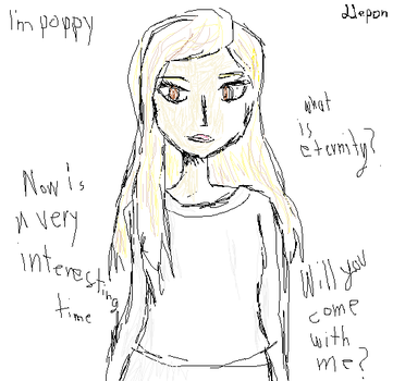 Poppy: what is eternity? by Llepon