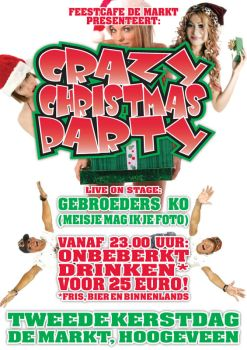 Crazy Christmas Party Flyer by Paradyne