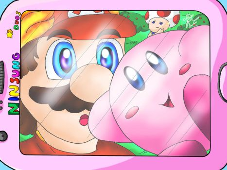 Kirby Selfie-Diary - Day 1 by MariaMario1