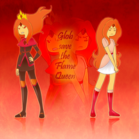 Glob save the flame queen by Rumay-Chian