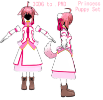 Puppy Pincess Set -DL by MMDFakewings18