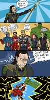Avengers: Strippers Assemble by sparkyHERO