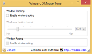 Winaero XMouse Tuner by hb860