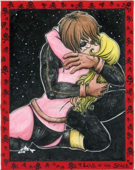 Love in the space by metaldolphin