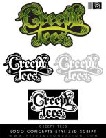 Logo: Creepy Tees by P3RF3KT