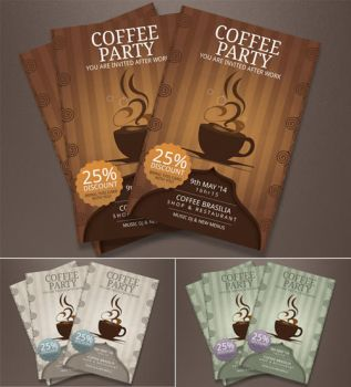 Coffee Shop Flyer by BloganKids