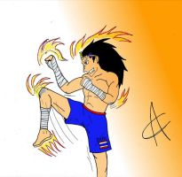 Muay Thai Gazille - Fairy Tail by TonyCocchi