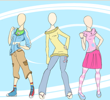 MLP Clothing Concept Colored by glitterypencils
