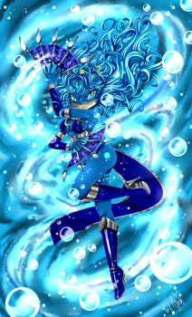 AT: Ocean Blue by mino-the-cat