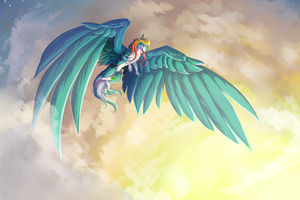 Dance of the Sky by Wolphyre