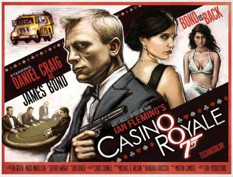 Casino Royale Poster by Jeffach