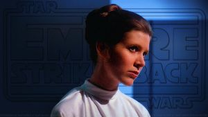 Carrie Fisher Princess Leia XLV by Dave-Daring