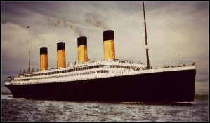 A Jewel Upon the Sea by RMS-OLYMPIC