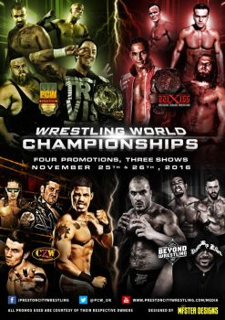 PCW, WXW, CZW and Beyond WWC official poster. by THE-MFSTER-DESIGNS