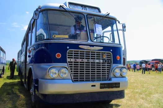 A Childhood Legend: Ikarus 620 #IV Front View by HoremWeb