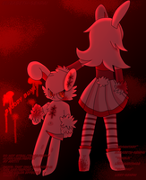 Bloody Bunny: The First Blood (Gift for Sapphire) by Elizabeth-Senpai