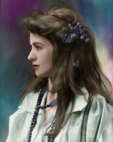 Vintage Actress Miss Adams by lumpi69