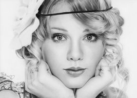 Taylor Swift by Rajacenna