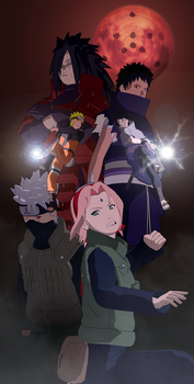 The Great War| Naruto Poster #2 by JustForPractice123