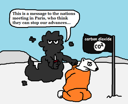 A Message From The CO2 State by PapaGonzales