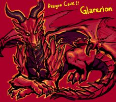 Dragon Cave - Red Dragon by Mootdam