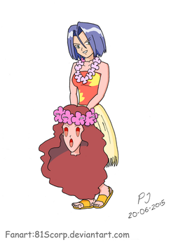 Aloha James (first try) by 81Scorp