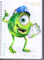 Mike Wazowsky by KathyPhantomhive