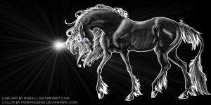 Ooneecorn by rheall by Griffin-Fire