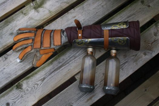 WIP Steampunk Lightning arm by WobbesInc