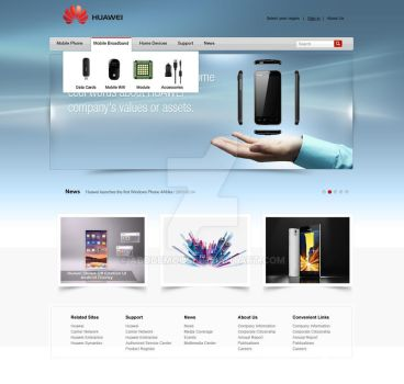 Huawei by abodemous