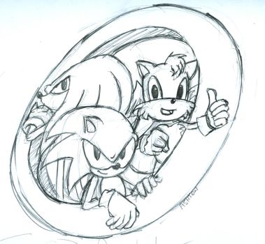 Sonic Team by TheSlyder